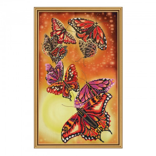 "Threads and beads embroidery kit ""Harmony"""