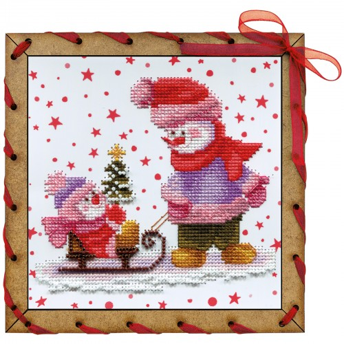 """Creative craft kits """"The first New Year tree"""""""