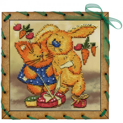 """Creative craft kits """"Gift for two persons"""""""