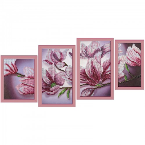 "Beads embroidery kit ""Magnolia"""