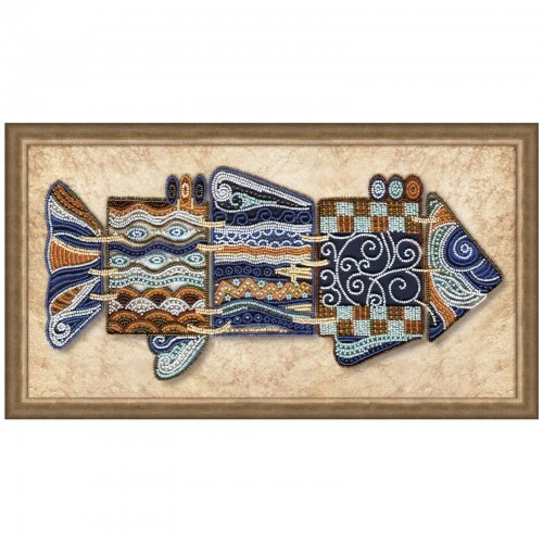 "Beads embroidery kit ""Wonderful fish"""