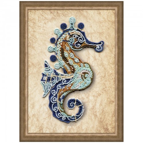 "Beads embroidery kit ""Colored horse"""