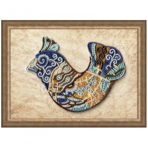 "Beads embroidery kit ""Gift bird"""