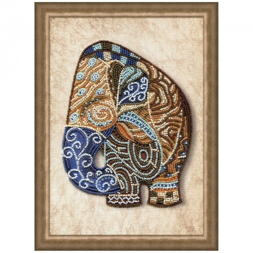 "Beads embroidery kit ""Parti-colored fish"""