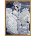"Beads embroidery kit ""The Princess Swan"""