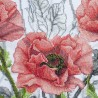"Threads and beads embroidery kit ""Rosy suite"""
