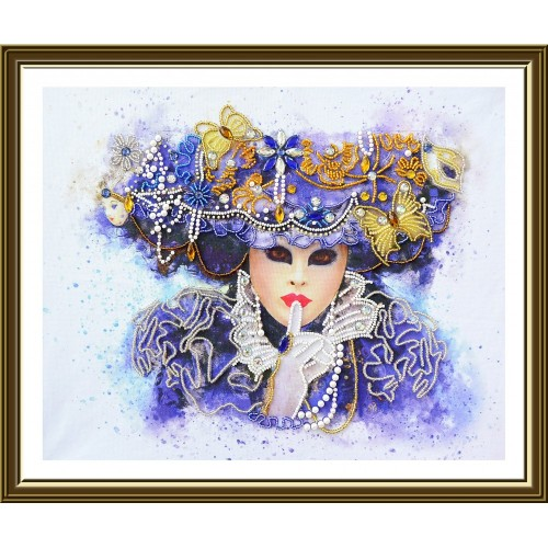 "Beads embroidery kit ""Brilliancy of Carnival"""