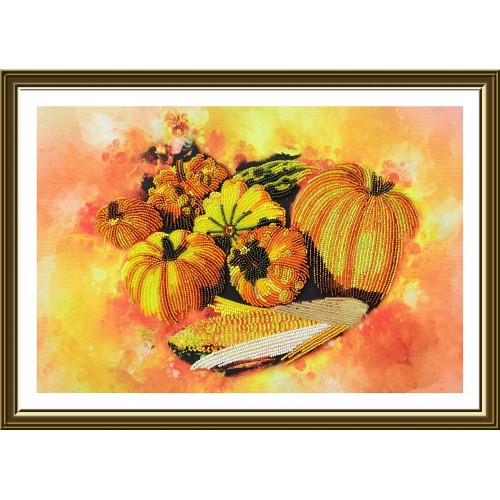 "Beads embroidery kit ""Gifts of Autumn"""