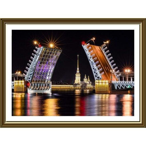 "Beads embroidery kit ""St. Petersburg"""
