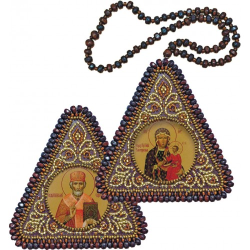 The Virgin Hodegetria & St. Nicholas the Wonderworker