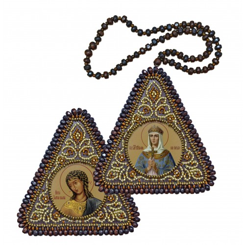 Equal to the Apostles St. Olga, Princess of Kiev & The Angel with the Golden Hair