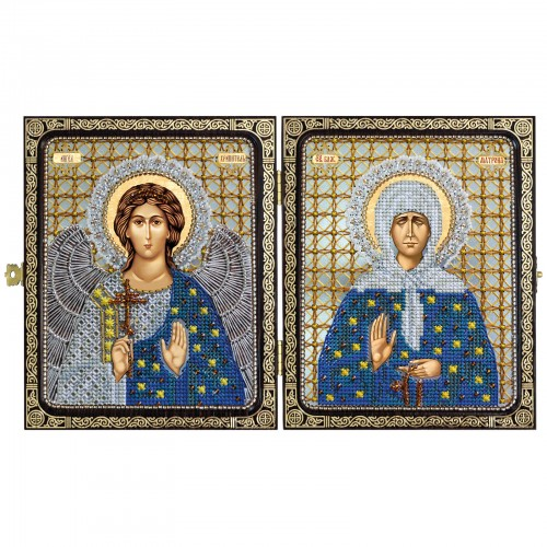 Holly Blessed St. Matrona of Moscow & Holy Guardian Angel