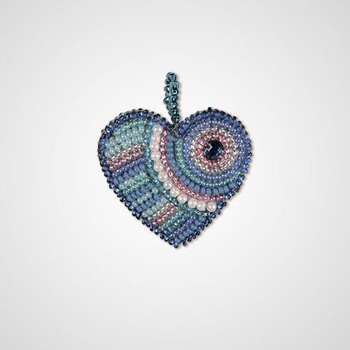 "Creative craft kit ""A heart ""Hope"""""