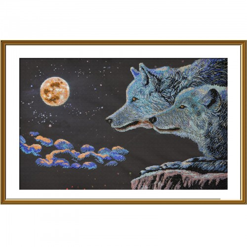"Beads embroidery kit ""Moonlight night"""