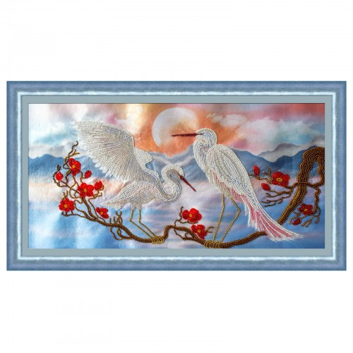 "Beads embroidery kit ""Azure of heaven"""