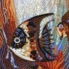 "Beads embroidery kit ""Sea world"""