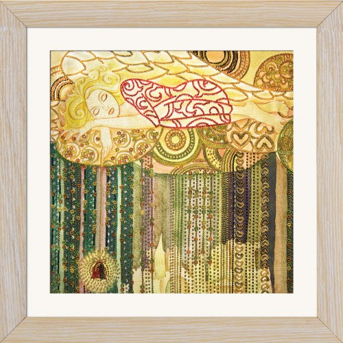 "Beads embroidery kit ""Colored dreams"""