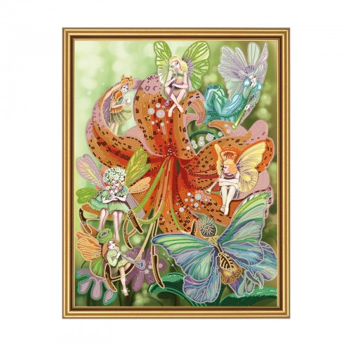 "Beads embroidery kit ""Fairy"""