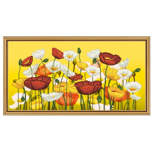 """Beads embroidery kit """"Spring mood"""""""