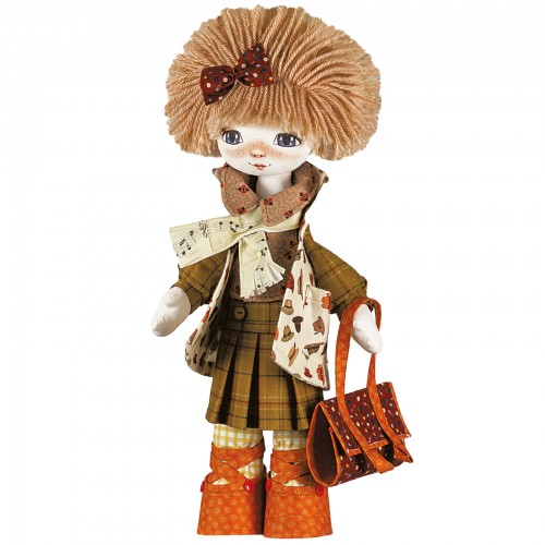 "Dolls sewing kits ""Lovely friends. Violinist"""